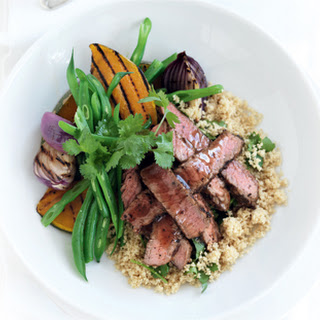 Spiced Beef Couscous Salad