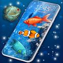 Fish Swim Live Wallpaper 🐟 3D Wallpaper Themes icon