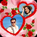 Romantic Photo Blending Frames: Love Frame Editor icon