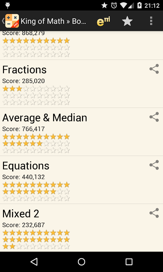 King of Math Pro - screenshot