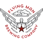 Logo for Flying Man Brewing Company