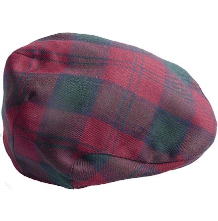 Highlands Tartan, röd och grön