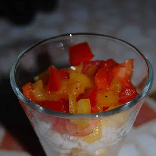Corn, Crab, and Pepper Mix Recipe
