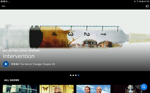 A&E - Watch Full Episodes of TV Shows screenshot 6