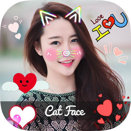 Cat Face - Photo Editor, Collage Maker & 3D Tattoo - Apps on
