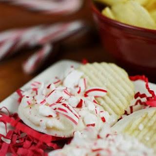 White Chocolate-Peppermint Potato Chips.