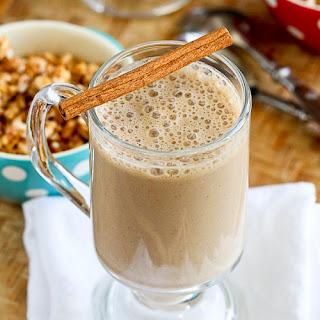 Healthy Coffee Banana Smoothie.