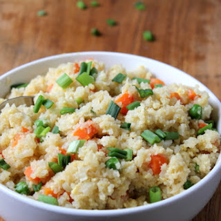 Super Easy Cauliflower Fried Rice