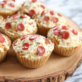 Pizza (Muffin) Cupcakes.