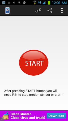 Anti Motion Alarm