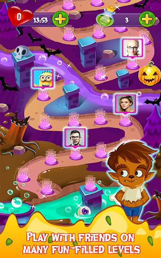 Halloween Smash 2020 - Witch Candy Match 3 Puzzle apkmr screenshots 9