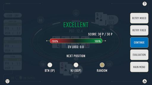 DTO Poker - Your GTO MTT Poker Trainer 2.7.3 screenshots 7