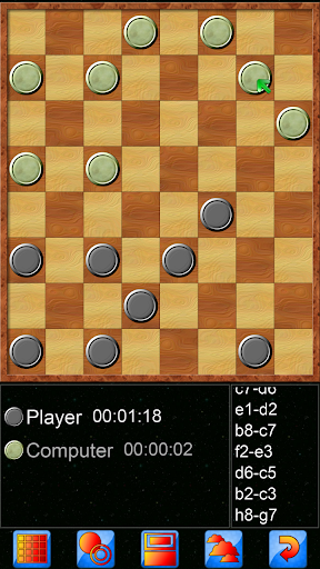 Checkers V+, online multiplayer checkers game 5.25.66 screenshots 3