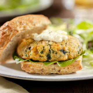 Sole and Spinach Burgers