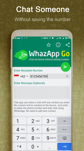 WhazappGo - Direct Chat & Video Status Saver 3.5 screenshots 2