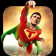 Grand Superhero Flying Crime Battle Rescue Mission