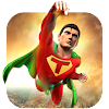 Superhero Flying Crime Battle City Rescue Mission