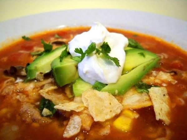 Easy Peasy Chicken Tortilla Soup