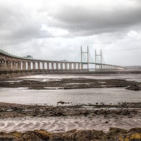 Second  Severn Crossing by Matt Stevens - Buildings & Architecture Bridges & Suspended Structures