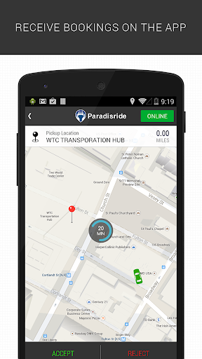 Paradisride - For drivers