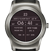 Classic Digital Watch Face