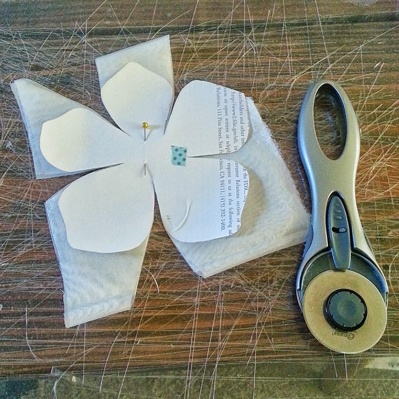 In-Progress: DIY Wedding Birdcage Veil with Flowers - DIY Fashion Accessories   fafafoom.com