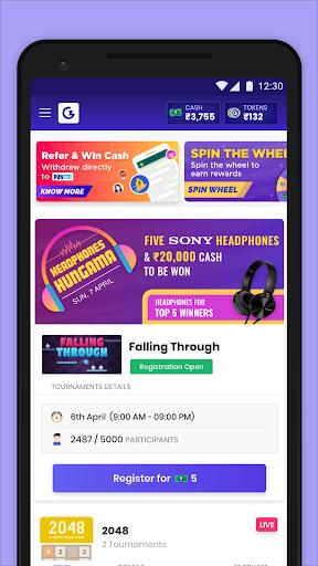 Play & Win Unlimited (Games khelo, Paise jeeto)! captures d'u00e9cran 1