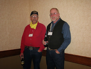 Photo: Bill Holt & Richard Newton (BNF District Ranger)