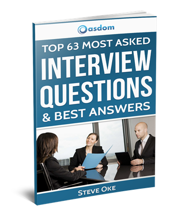 Top 63 most asked interview questions. Learn how to craft job winning answers to even the most trickiest interview questions in this super condensed guided.