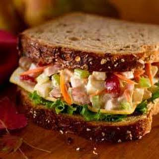 Turkey 'n Pear Salad Sandwiches.