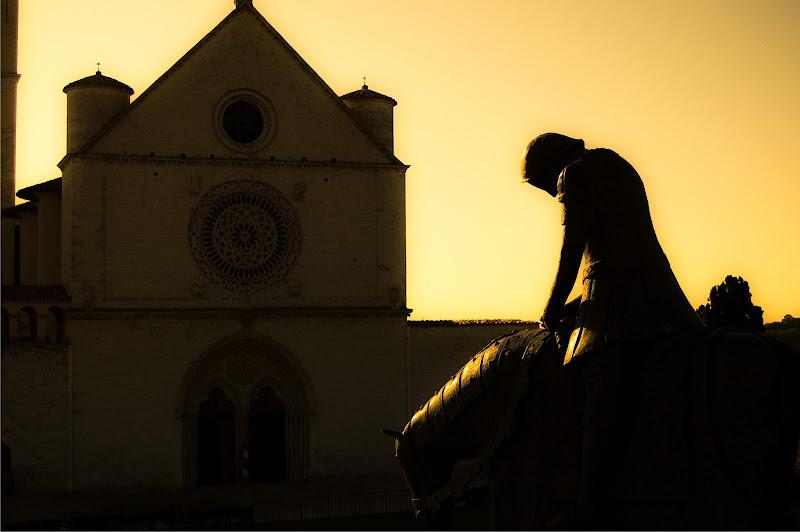 tramonto ad Assisi di simona cancelli