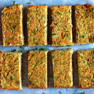 Zuchinni and Carrot Slice.