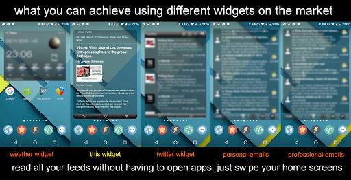 Widget for Facebook 3.3 screenshots 3