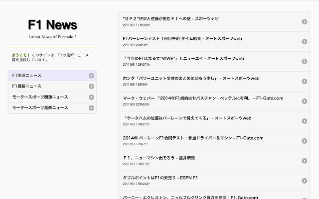 最新 ニュース f1