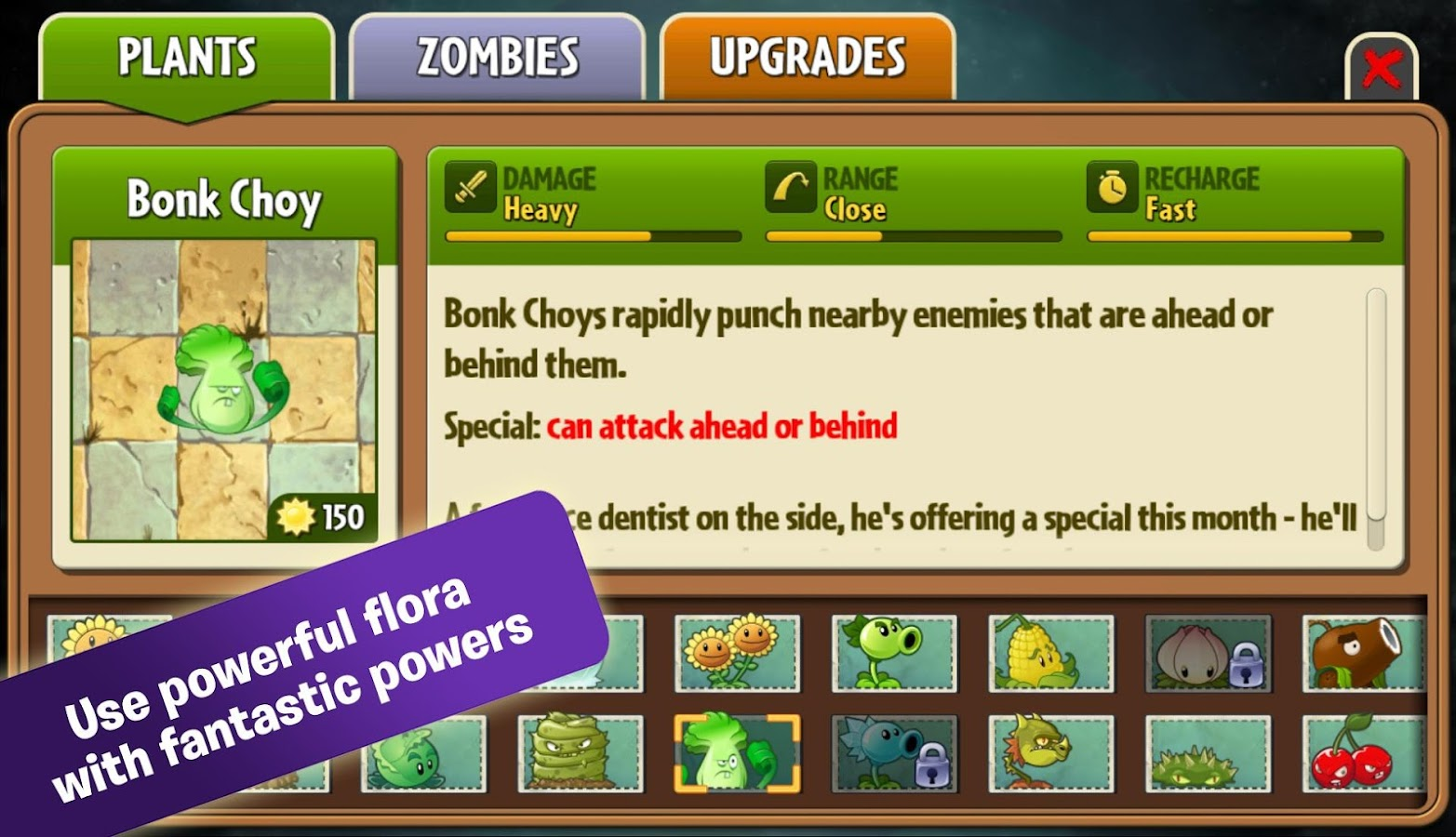 Plants vs. Zombies 2 – zrzut ekranu