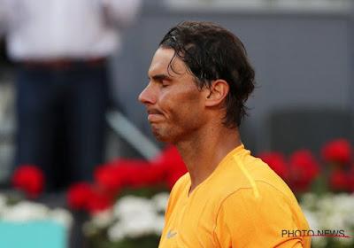 Rafael Nadal est sans pitié pour lui-même