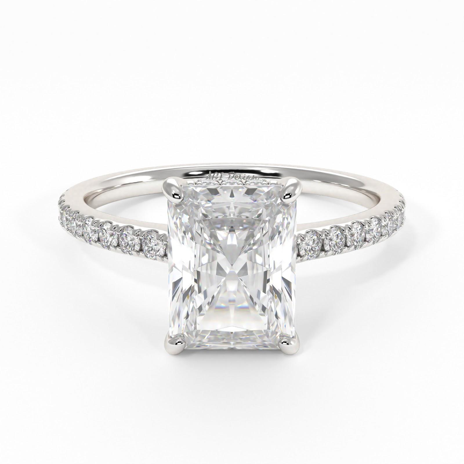 gorgeous moissanite engagement rings