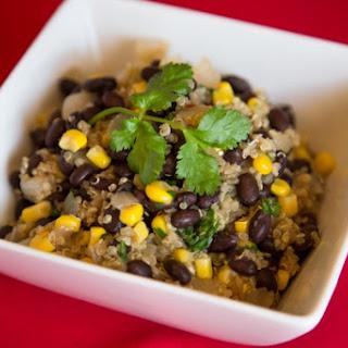 Scrumptious Black Bean, Corn & Quinoa Trio.