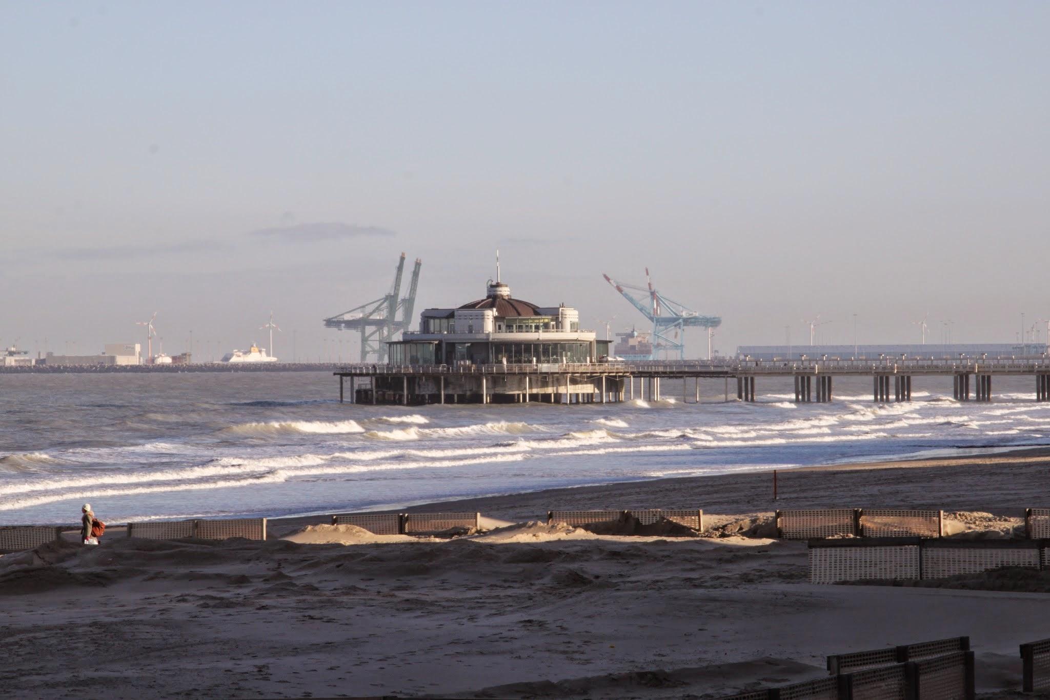 Photo: De pier van Blankenberge