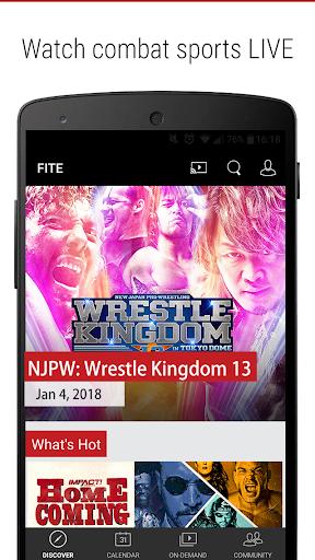 FITE - Boxing, Wrestling, MMA 2.11 screenshots 1
