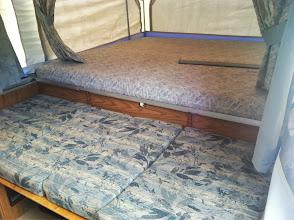Photo: Dinette Bed Conversion