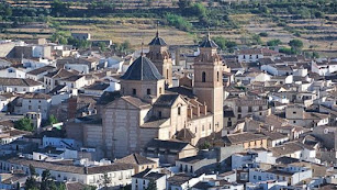 Vista del municipio de Vélez Rubio.