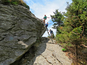 Photo: Ladder up MacRae Peak for the 2nd time