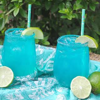Blue Coconut Margarita.
