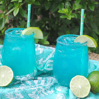 Blue Coconut Margarita.