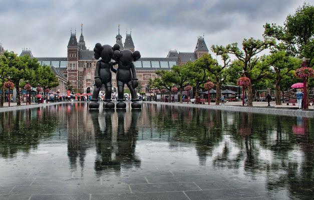 Pioggia ad Amsterdam di Gianluca Presto