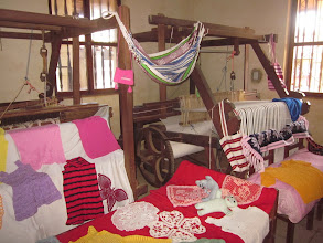 Photo: Textiles made by Guarayo ladies