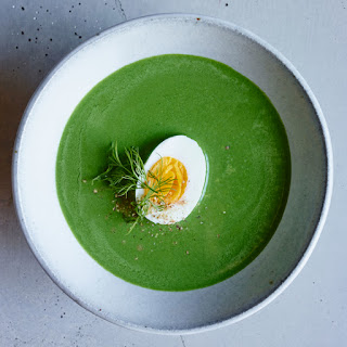 Creamy Spinach Soup with Dill