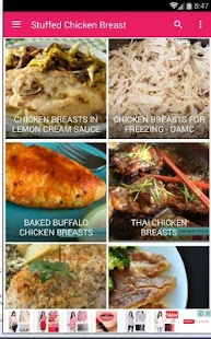 stuffed chicken breast recipes - náhled