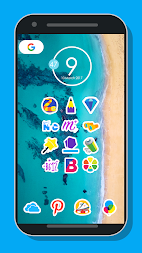 Mangis Icon Pack APK screenshot thumbnail 3